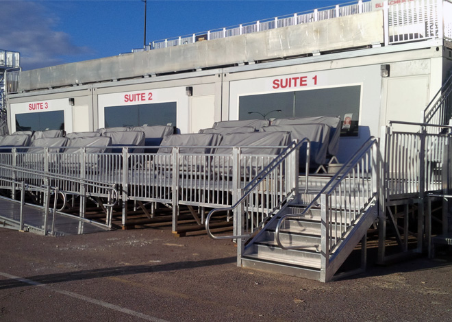 Seating Solutions Modular Buildings Rent Bleachers