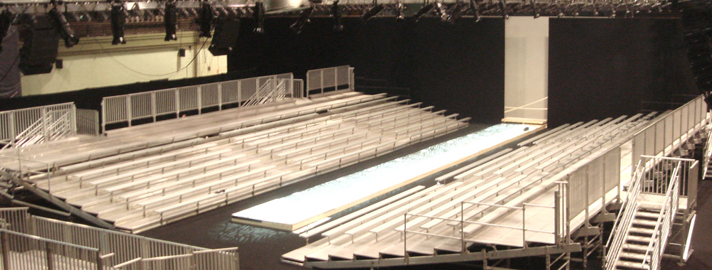 Seating Solutions Fashion Shows And Broadcasted Events