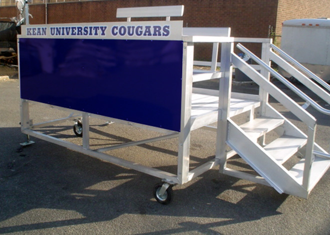 Seating Solutions Game Day Scorers Platform Bleachers