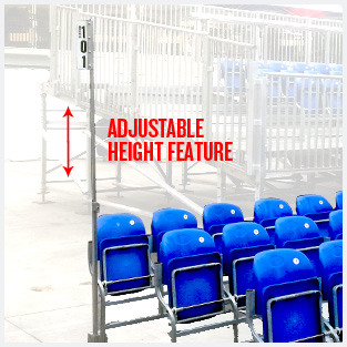 section-signage-adjustable-height-feature
