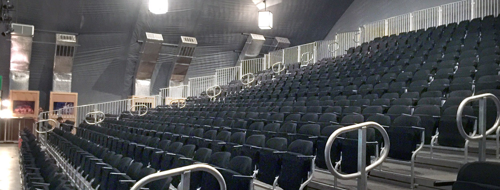 Seating Solutions Ultimate Flip Up Seating Temporary
