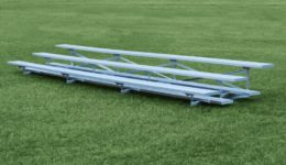 Low Rise Portable Bleachers