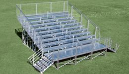 Welded Elevated Bleachers