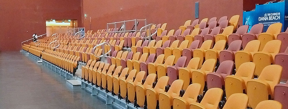 Seating Solutions The Bravo Seat Temporary Seating