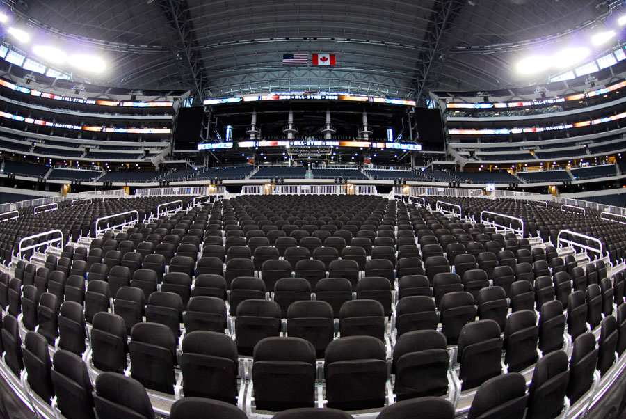 NBA All Star Game, AT&T Stadium - Seating Solutions