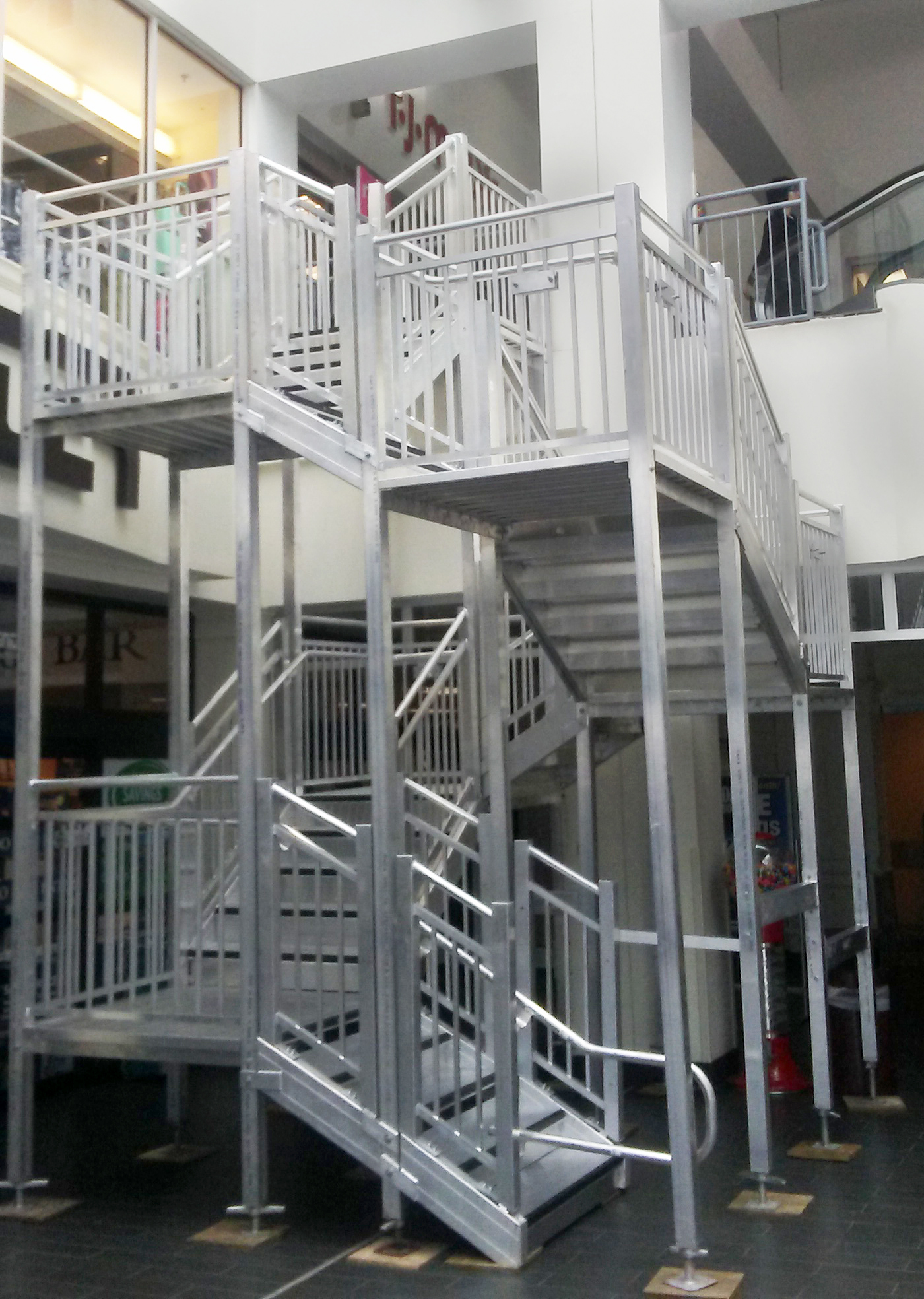 Ada Stairway Temporary Stairs For Rent Rent Stairs